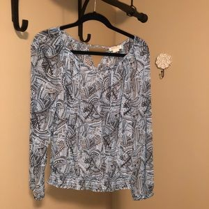 Lucky Brand Tops - Lucky Brand peasant blouse
